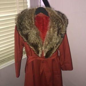 Vintage Main Street Fashion Trench Coat